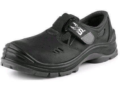 Obuv sandál CXS SAFETY STEEL IRON S1, černý