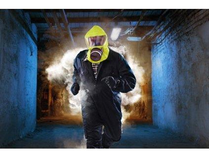 SR 77-3 SMOKE/CHEM ESCAPE HOOD stacionární