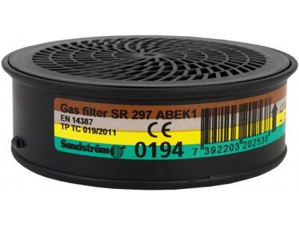 SR 297 ABEK1 protiplynový filtr