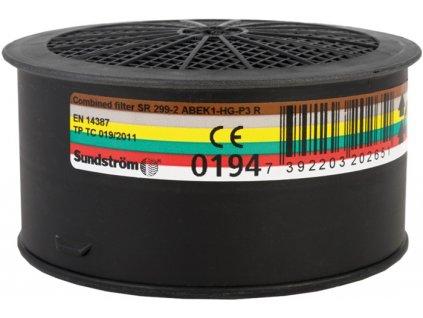 SR 299-2 ABEK1 HG P3 R kombinovaný filtr