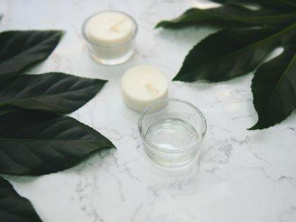 BEZ OBALU - Čajová sviečka Jemnô - náhradná náplň bez obalu 1 ks