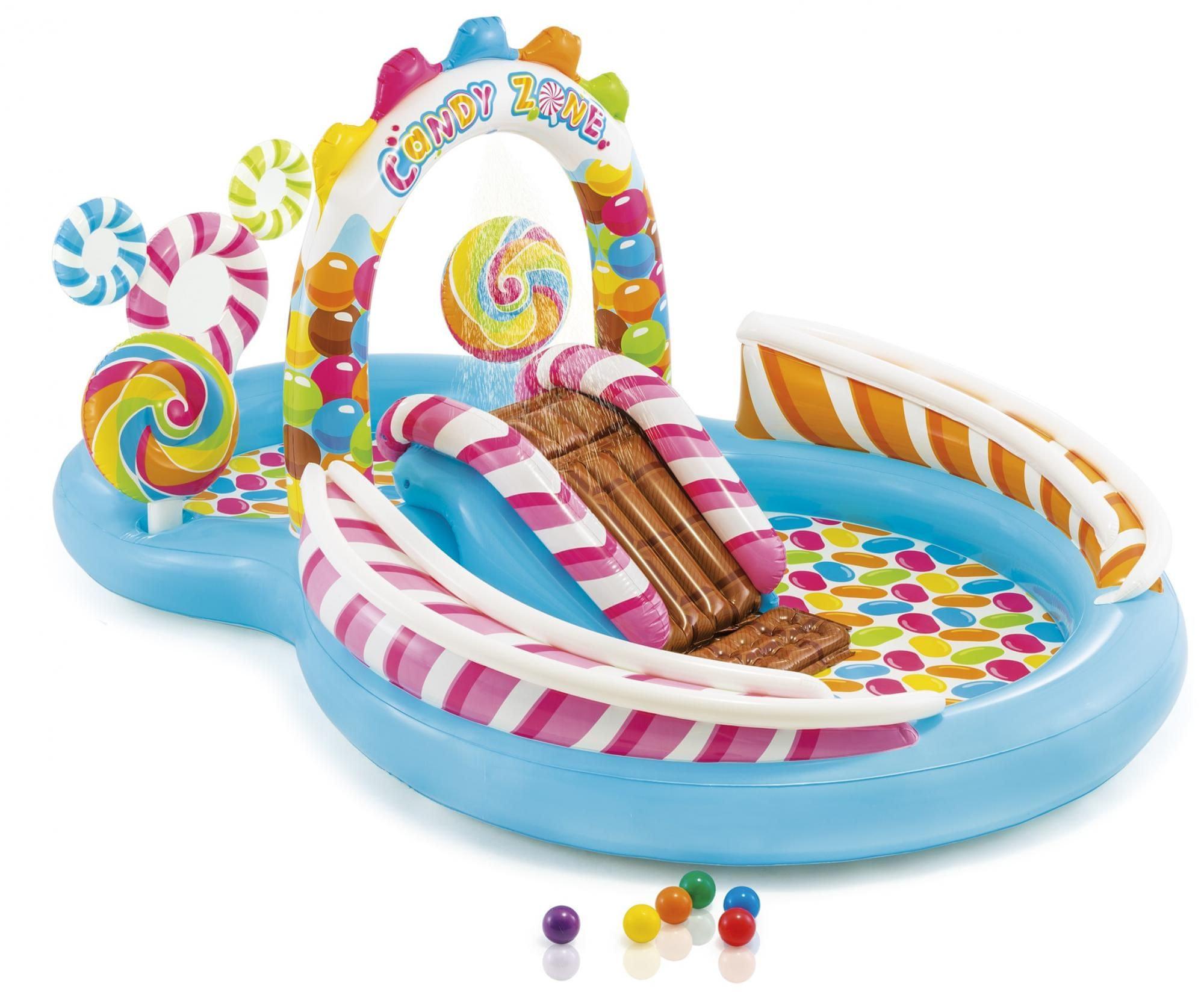Nafukovací hrady, bazénky a příslušenství