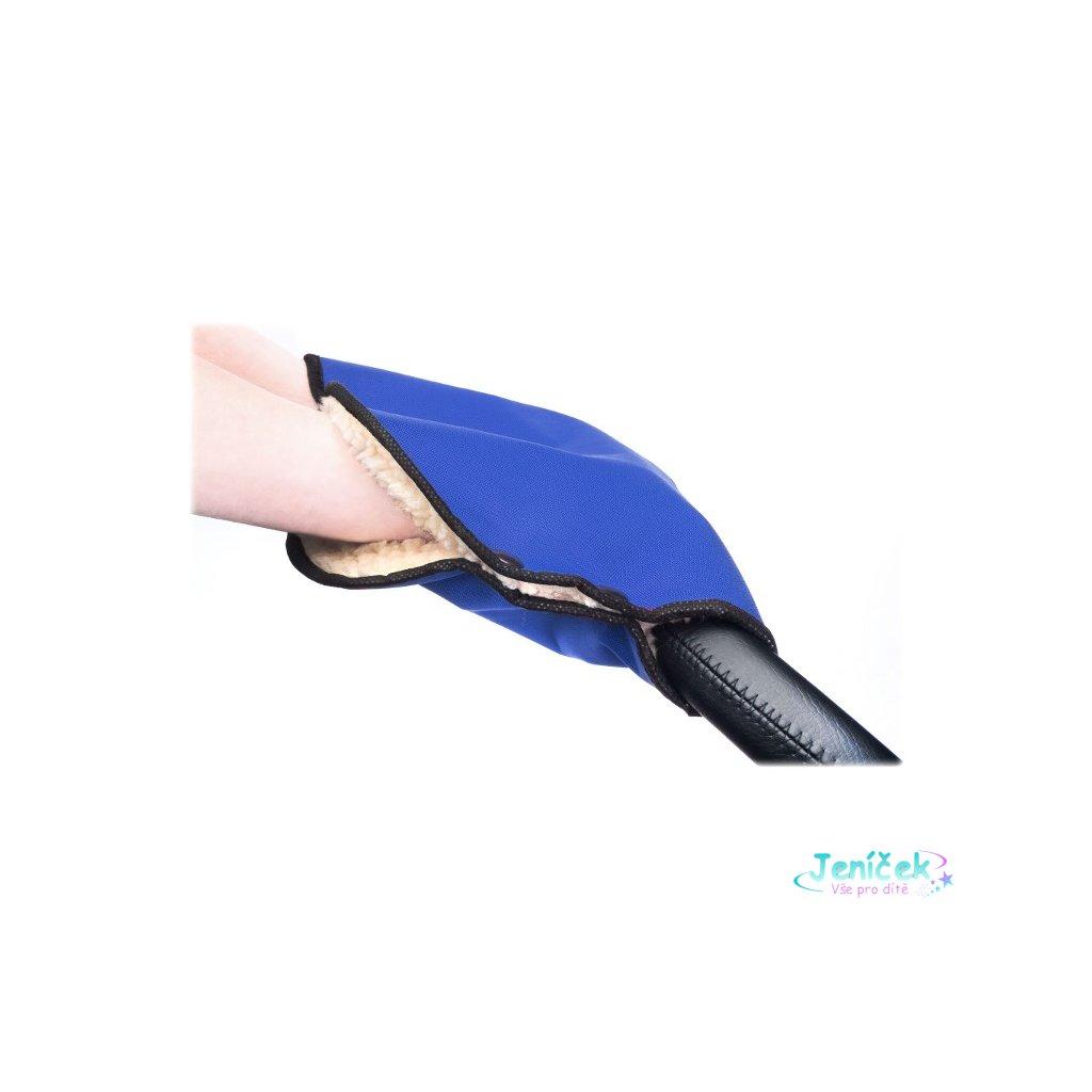 Rukávník na kočárek Sensillo 40x45 blue