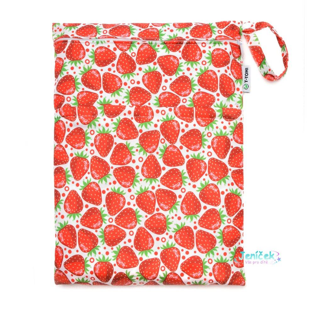 Nepromokavý sáček, strawberries