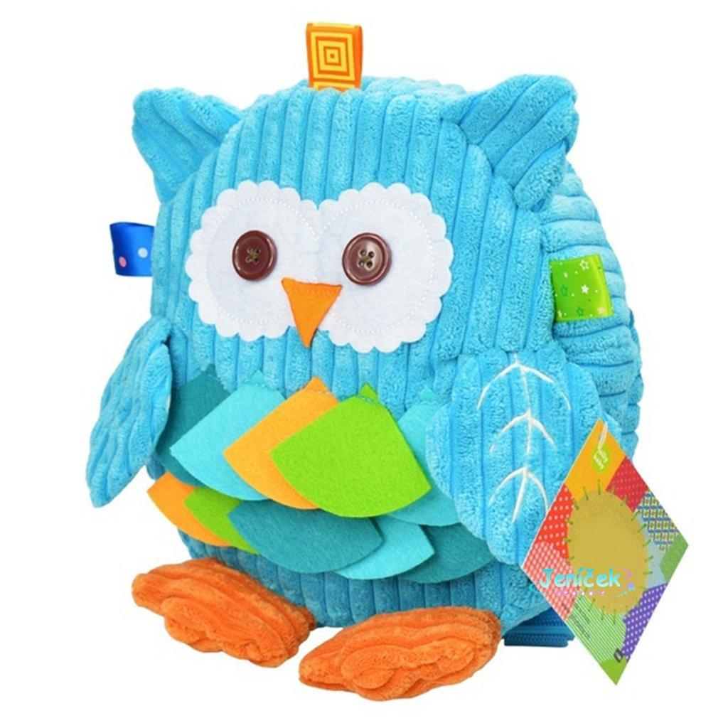 Nettes Kind Plüsch Schule Rucksäcke Tierfigur Tasche Kind Mädchen Jungen Geschenke Spielzeug Eule Kuh Frosch Affen