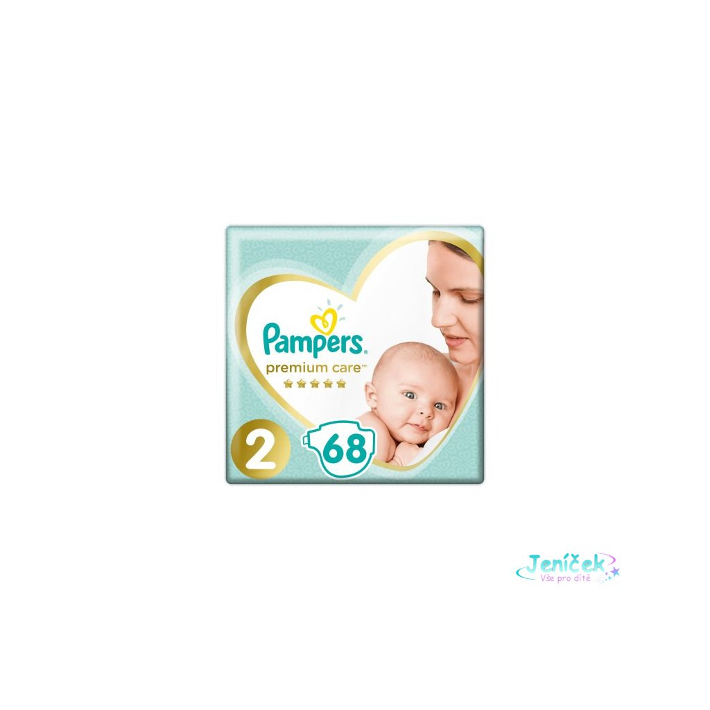PAMPERS Premium Care 2 MINI (4-8 kg) 2x68 ks Value Pack – jednorázové pleny