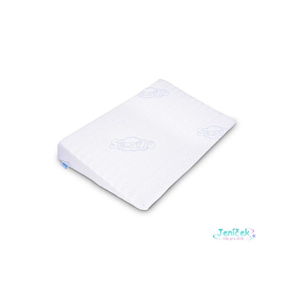 Kojenecký polštář - klín Sensillo bílý 59x37 cm