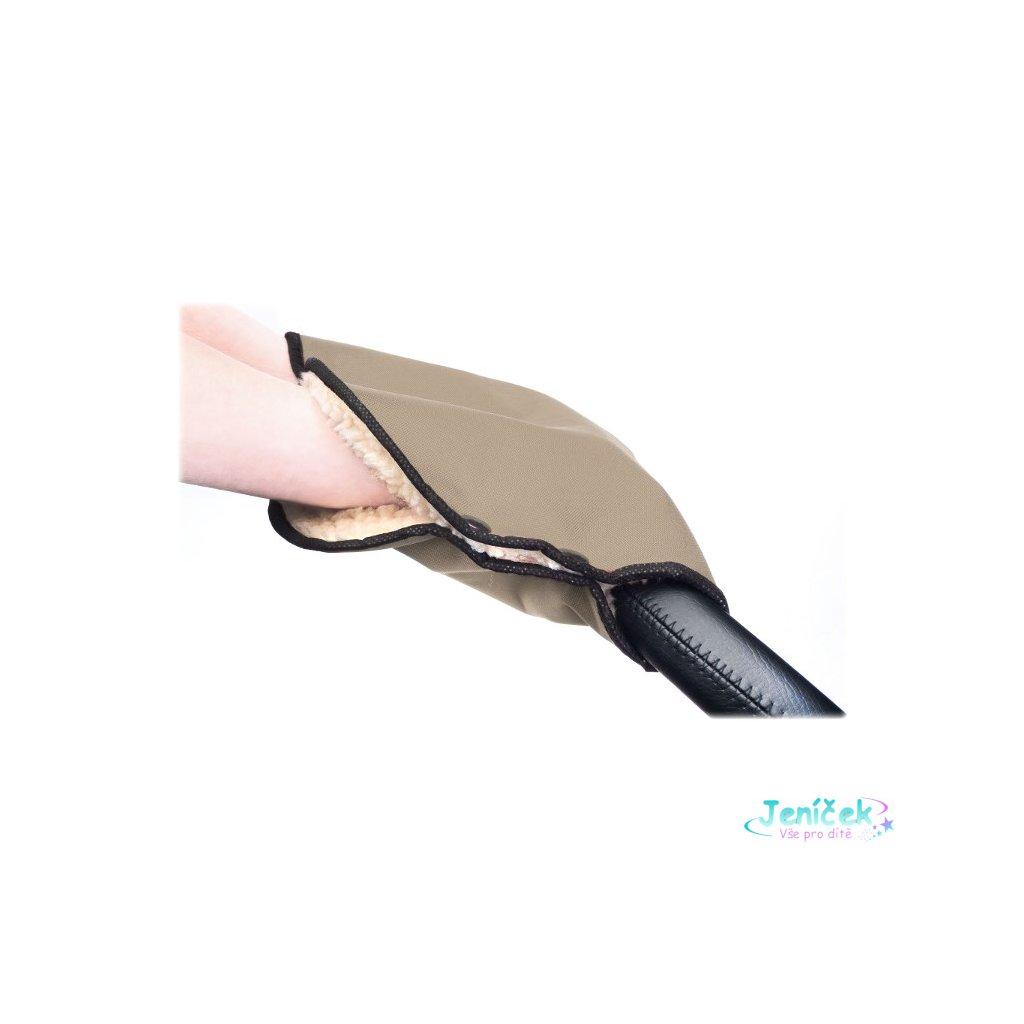 Rukávník na kočárek Sensillo 40x45 beige