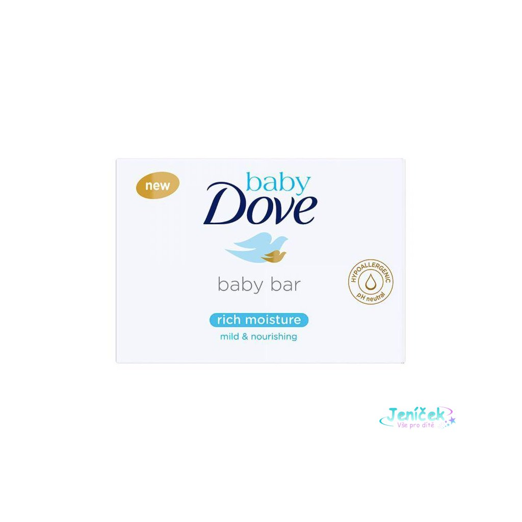 Tableta na mytí krémová 75g Baby Dove