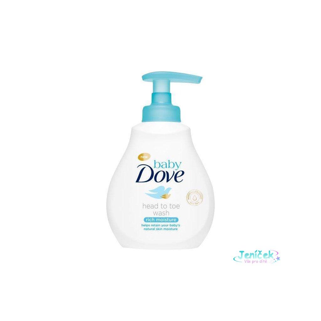 Gel mycí na celé tělo a vlásky 200ml Baby Dove
