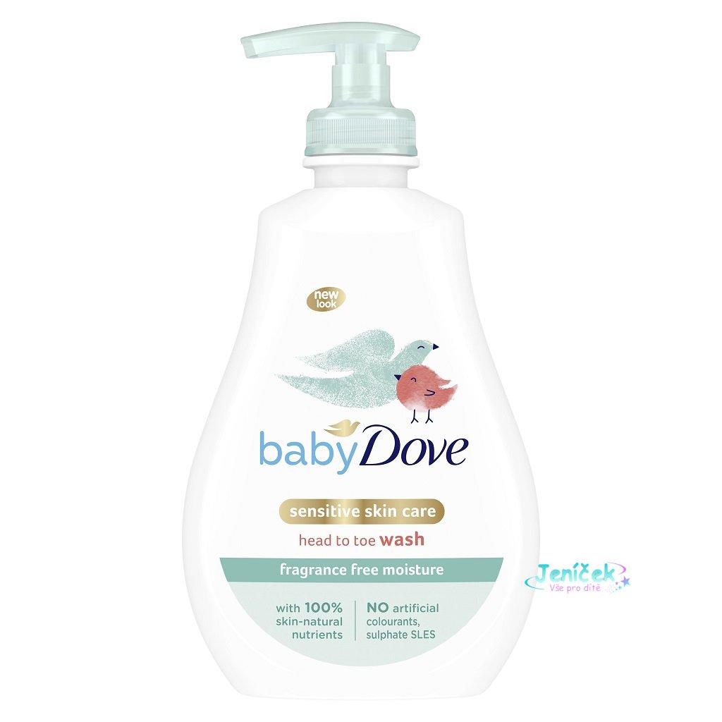 Gel mycí na celé tělo a vlásky Sensitive 400ml Baby Dove