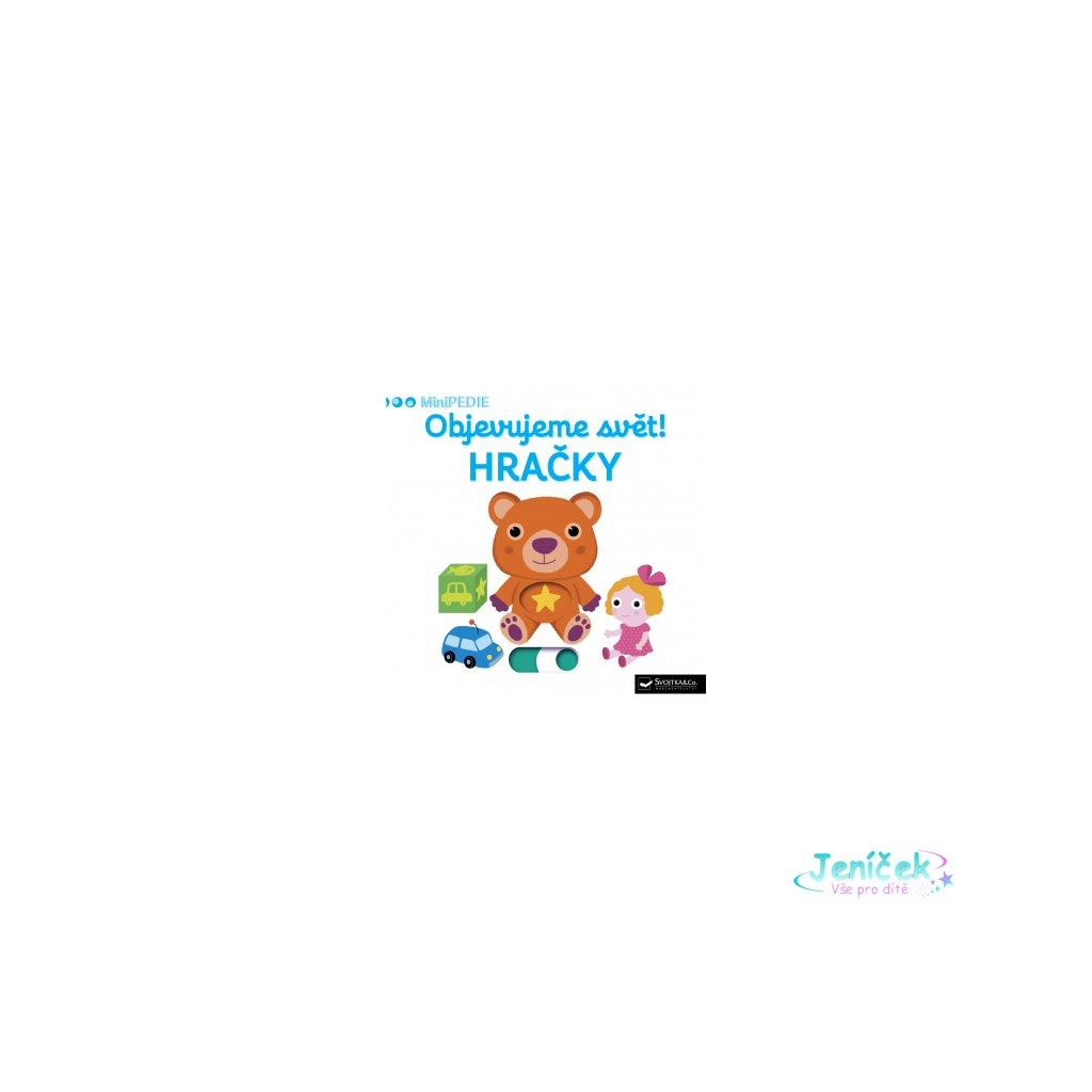 Kniha MiniPEDIE Objevujeme svět! Hračky
