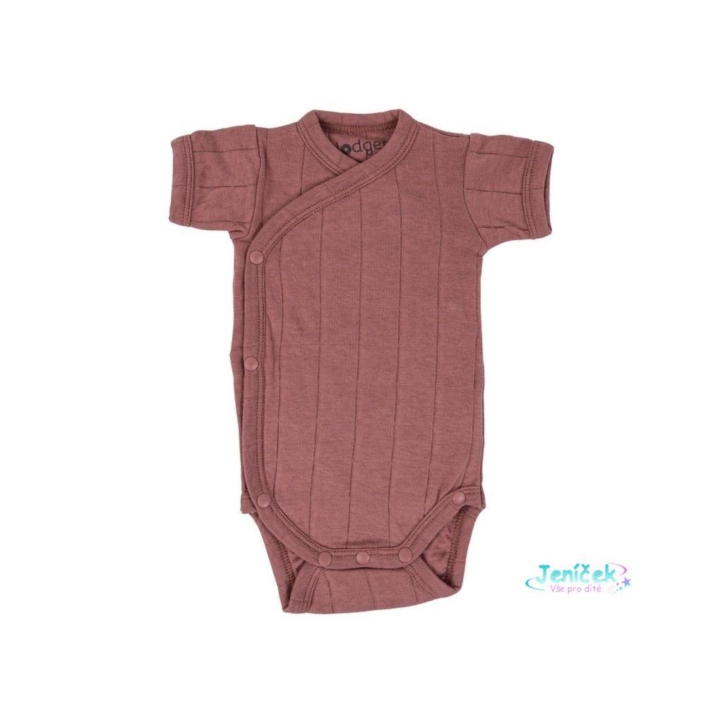 LODGER Romper SS Tribe Rosewood