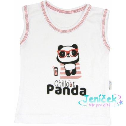 Mamatti Bavlněné tilko Panda, roz. 92