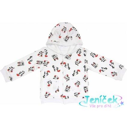 Mamatti Mikinka s kapucí Panda, roz. 98