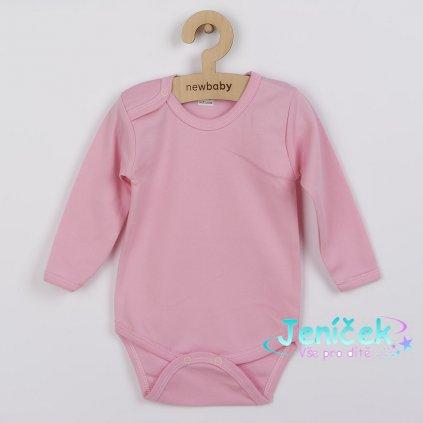 Kojenecké body New Baby Classic II růžové