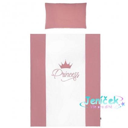 5-dílné ložní povlečení Belisima Royal Baby 90/120 růžové