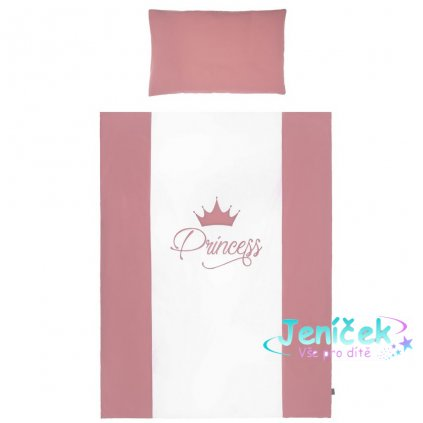 5-dílné ložní povlečení Belisima Royal Baby 100/135 růžové