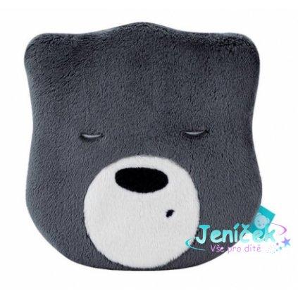100921 169161 mini sumici medvidek hlava grafit