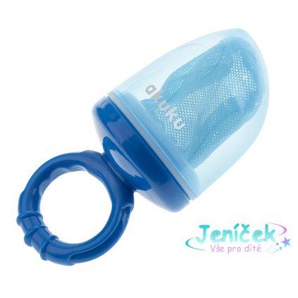 Dětská krmící síťka na potraviny Akuku modrá 1 ks