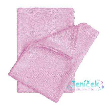 Koupací žínky - rukavice, pink / růžová