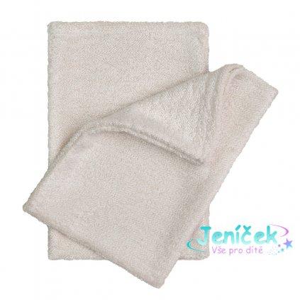 Koupací žínky - rukavice, natur - ECO