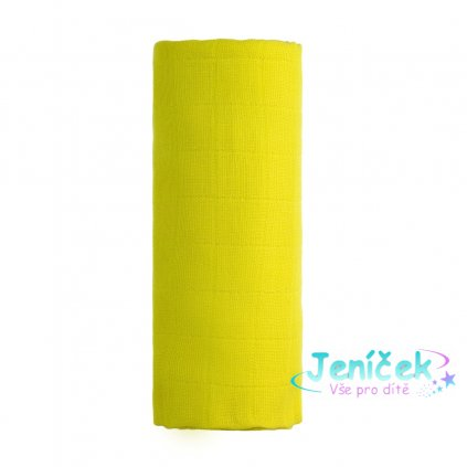 Bambusová osuška, yellow / žlutá