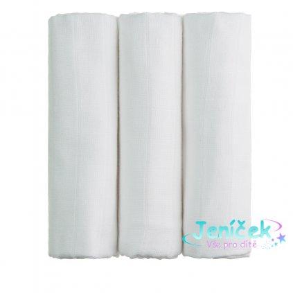 BIO Bambusové pleny, white / bílá
