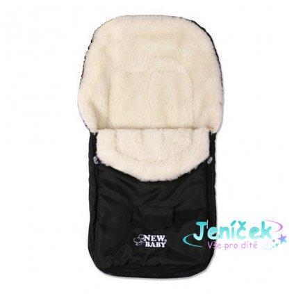 Zimní fusak New Baby Classic Wool black