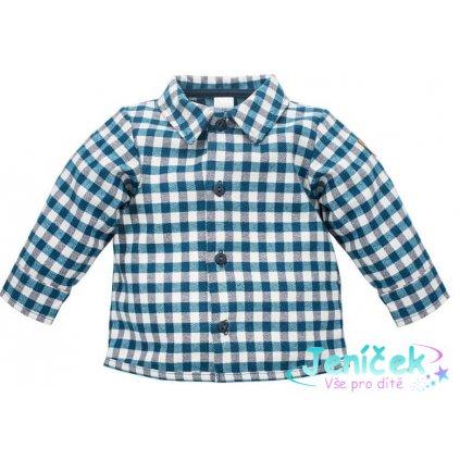 PINOKIO dětská košile Secret Forest tmavě modrá
