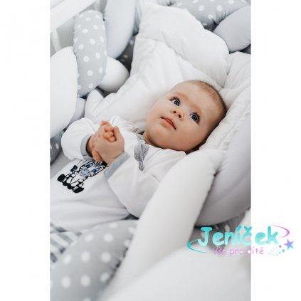 Kojenecké bavlněné celorozepínací body New Baby Zebra exclusive