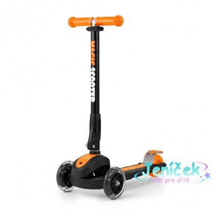 Dětská koloběžka Milly Mally Magic Scooter orange