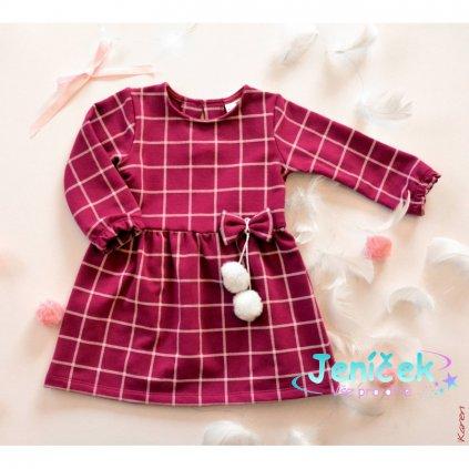nowosc sukienka z pomponami (1)