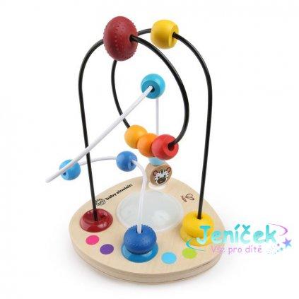 Hračka dřevěná labyrint Color Mixer HAPE 12m+