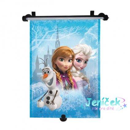 Stínítko na okno auta stahující Frozen 1ks