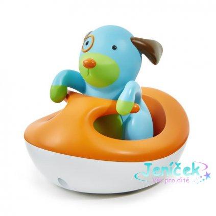 Zoo hračka do vody Pejsek na vodním skútru 12m+