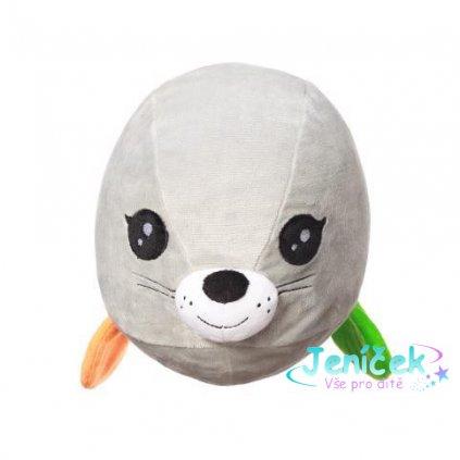Hračka polštářek C-MORE tuleň Lucy 18x22cm