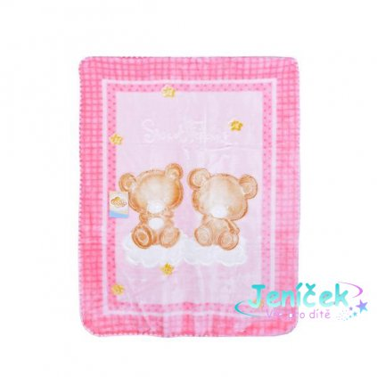 COPITO GOLD Deka španělská dětská 548 Pink 110 x 140