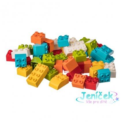 L-W Toys Stavebnice pro nejmenší stavitele KOSTKY 50 ks