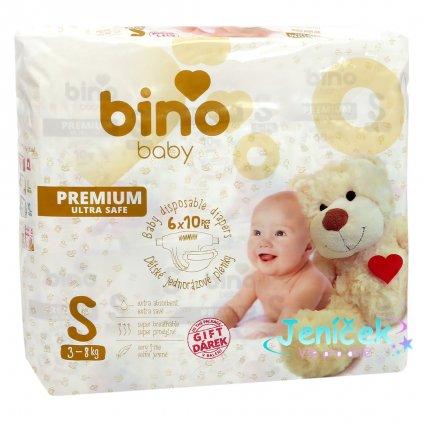 Bino Pleny BABY PREMIUM S 6x10 ks s dárkem
