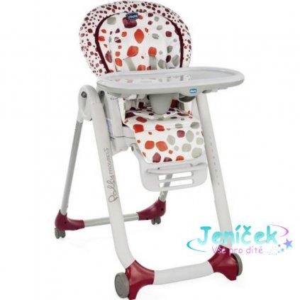 Židlička jídelní Polly Progres5 - Cherry