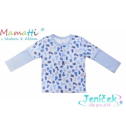 Bavlněné tričko/polo Mamatti - FOTBAL