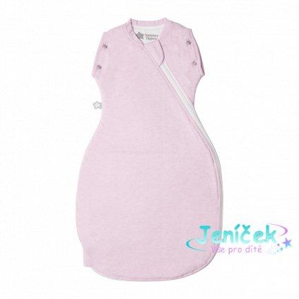 Zavinovačka Grobag Snuggle 0-4m celoroční Pink Marl