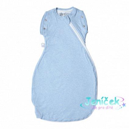 Zavinovačka Grobag Snuggle 0-4m letní Blue Marl