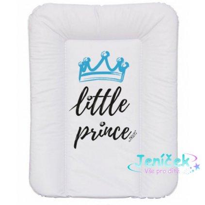 NELLYS Přebalovací podložka, měkká, Little Prince, 70 x 50cm, bílá