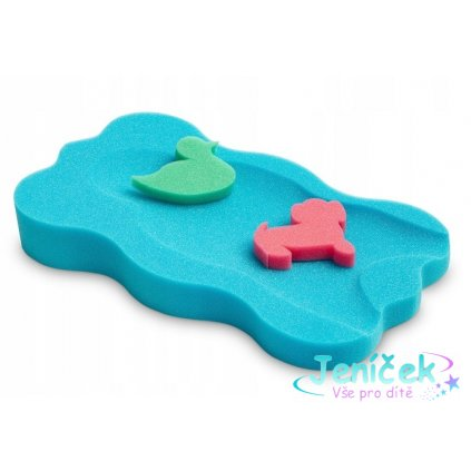 Tega Baby Matračka - houba ke koupání miminek Midi - Modrá