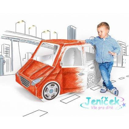 Dětské kartonové auto Tektorado