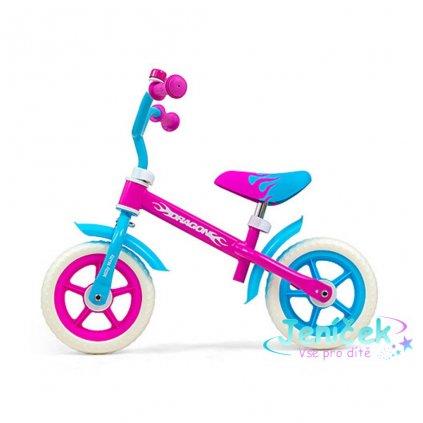 Dětské odrážedlo kolo Milly Mally Dragon Candy