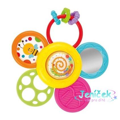 Smily Play Edukační hračka s přisávkou - Sedmikráska