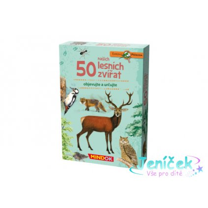 Expedice příroda: 50 našich lesních zvířat